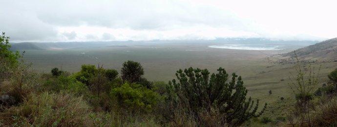 Ngorongoro hommikune panoraam-2